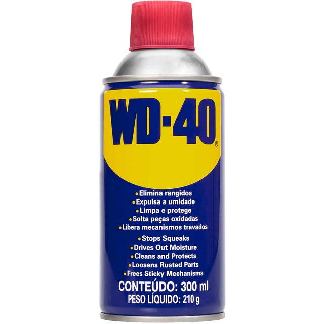 SPRAY LUBRIFICANTE MULTIUSO WD-40 300ML/200G
