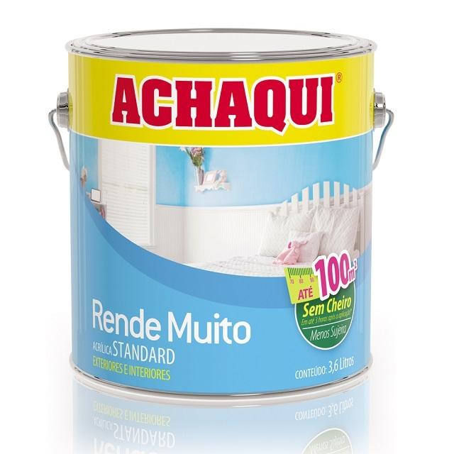 TINTA ACRÍLICA FOSCO PÉROLA 3,6L RENDE MUITO ACHAQUI