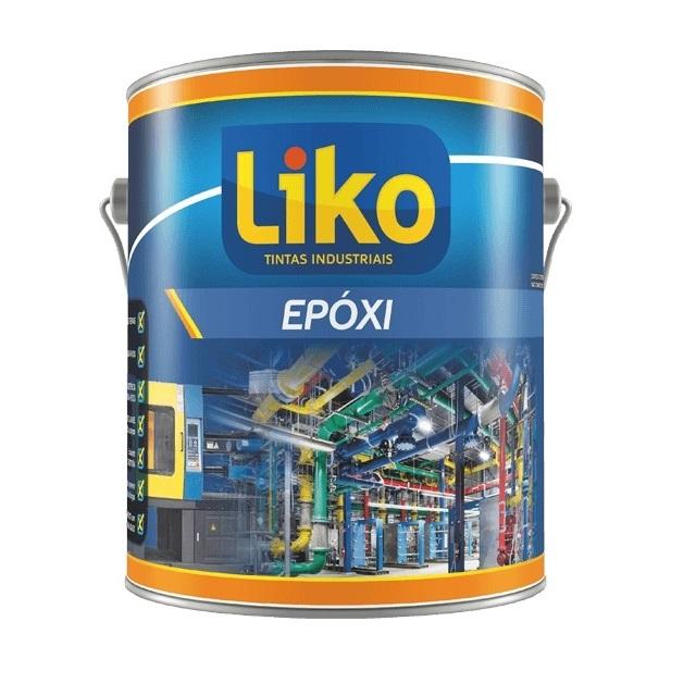 TINTA EPOX  LIKCOAT N-1198 BRANCO N9,5 COM CATALIZADOR  3,6L - LIKO