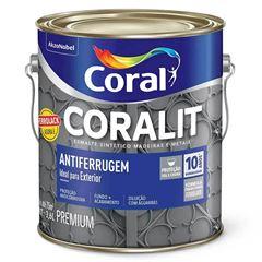 CORALIT ANTIFERRUGEM CINZA 3,6L (FERROLACK) CORAL 5203035