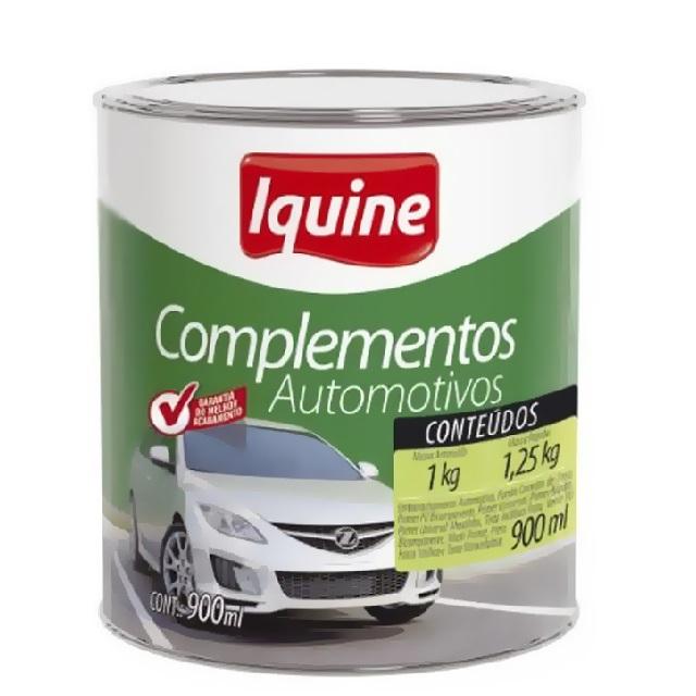 MASSA RÁPIDA AUTOMOTIVA IQUINE CINZA 0,9L