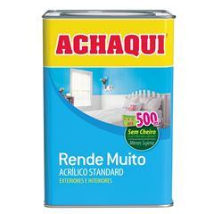 TINTA ACRÍLICA FOSCO BRANCO GELO 18L RENDE MUITO ACHAQUI