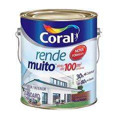 TINTA ACRÍLICA FOSCA RENDE MUITO CORAL 5202214 LARANJA IMPERIAL 3,6L