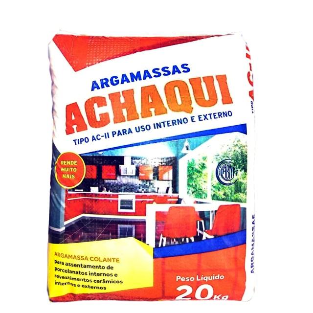 ARGAMASSA AC-II (EXTERNO) 20KG ACHAQUI