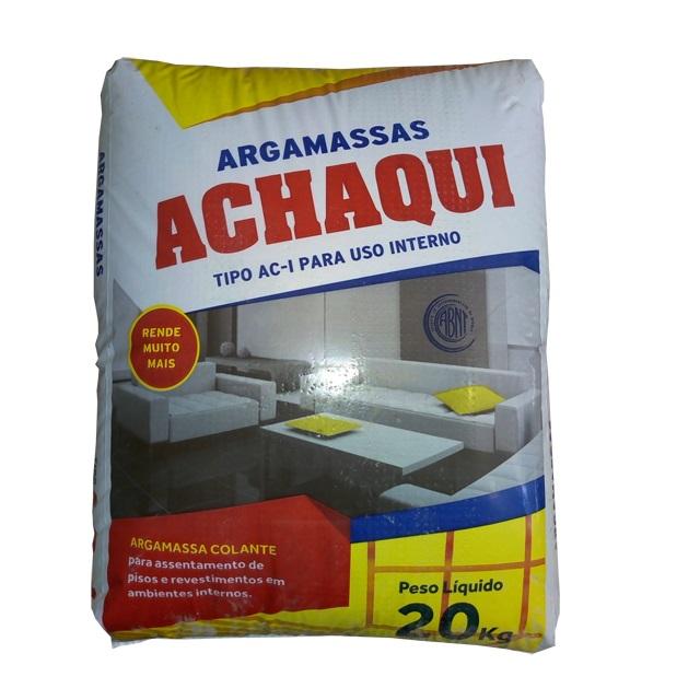 ARGAMASSA AC-I (INTERNO) 20KG ACHAQUI