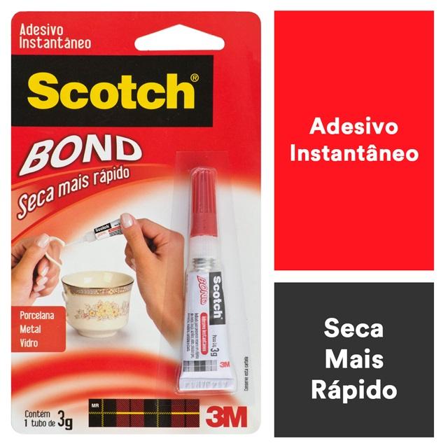 ADESIVO INSTANTÂNEO SCOTH-BOND 3G 3M