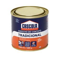 ADESIVO CONTATO TRADICIONAL SEM TOLUOL 230ML/195G CASCOLA - HENKEL