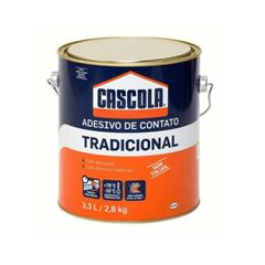 ADESIVO CONTATO TRADICIONAL SEM TOLUOL 3,3L/2,8KG CASCOLA - HENKEL