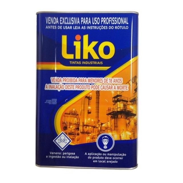 DILUENTE PARA TINTA EPOX 000.115  0,9L - LIKO