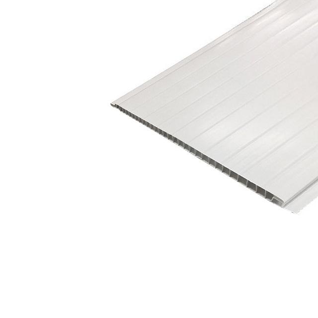 FORRO DE PVC FRISADO BRANCO TALA COM 200MM X 6M (1,2M2) PERFILPLAST
