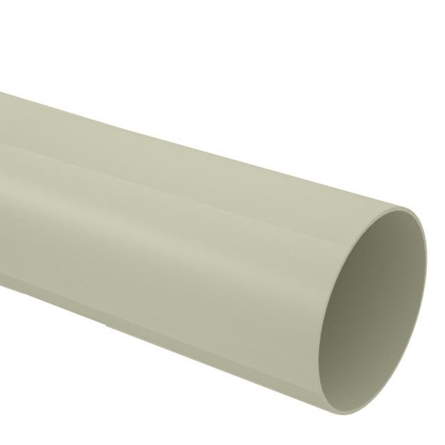 TUBO CONDUTOR AQUAPLUV PVC BEGE 88MMX3M TIGRE