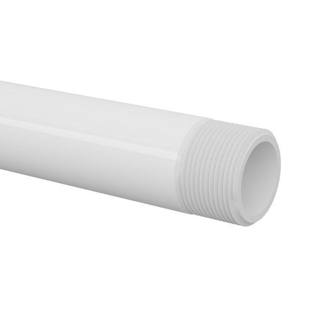 TUBO ROSCÁVEL PVC BR 6M 1.1/2