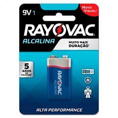 BATERIA ALCALINA 9V CART. C/1 UNID. 20984 RAYOVAC