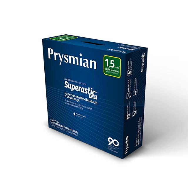 CABO ECOFLEX  1,5MM2 VERMELHO PC100  PRYSMIAN 750V