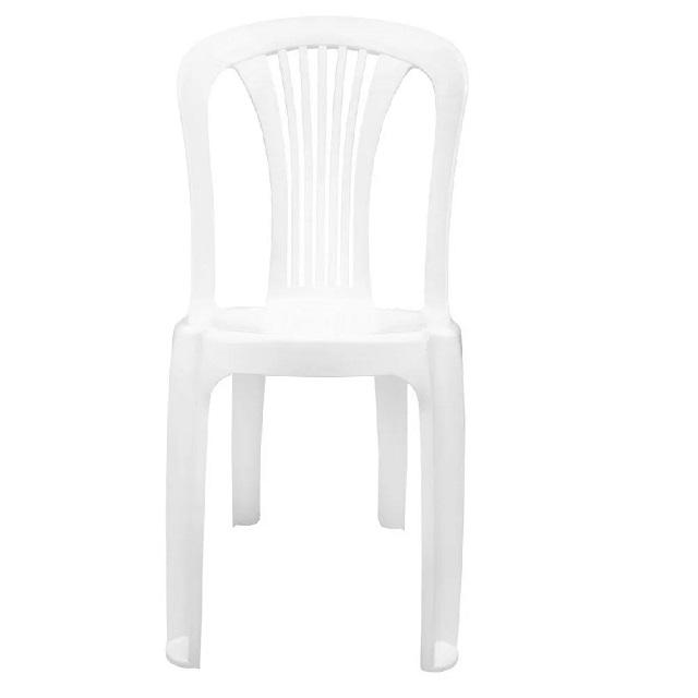 CADEIRA PVC BISTRÔ BRANCA F850000 GARDEN LIFE