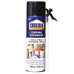 ESPUMA EXPANSIVA DE POLIURETANO (PU) CASCOLA 500ML/480G HENKEL