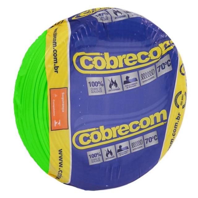 CABO FLEXICOM 1,5MM2/750V PC100M VD COBRECOM