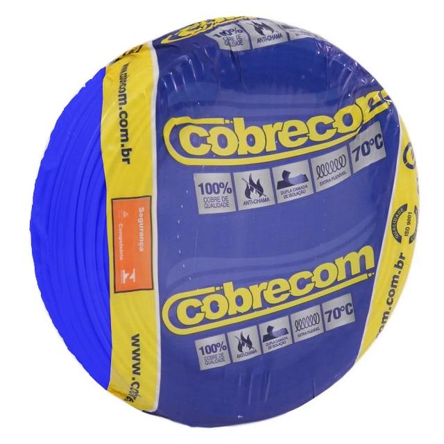 CABO FLEXICOM 1,5MM2/750V PC 50M AZ COBRECOM