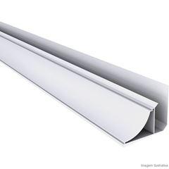 PERFIL RODA FORRO PVC COLONIAL BRANCO 6,0M PERFILPLAST