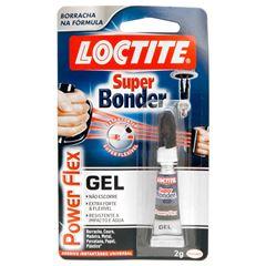 COLA SUPER BONDER POWER FLEX GEL 2G LOCTITE - HENKEL