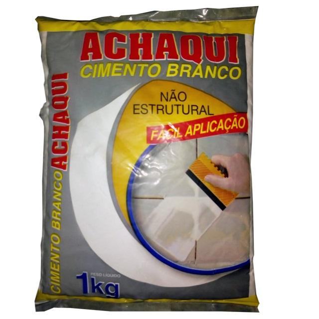 CIMENTO BRANCO 1KG ACHAQUI