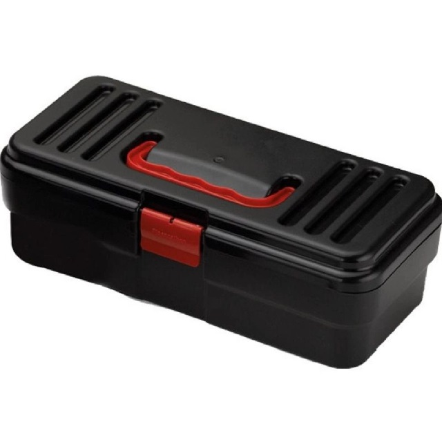 CAIXA PARA FERRAMENTAS EM PVC BLACK BOX 29,5X13X9CM (4645) PLASNORTHON