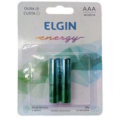 PILHA PALITO AAA ENERGY (C/2) ELGIN