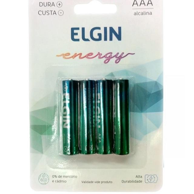 PILHA PALITO AAA ENERGY (C/4) ELGIN