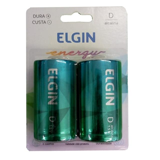 PILHA GRANDE D ENERGY (C/2) ELGIN