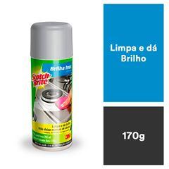 BRILHA INOX (LIMPADOR) SCOTCH-BRITE SPRAY 170G HB004297410 3M