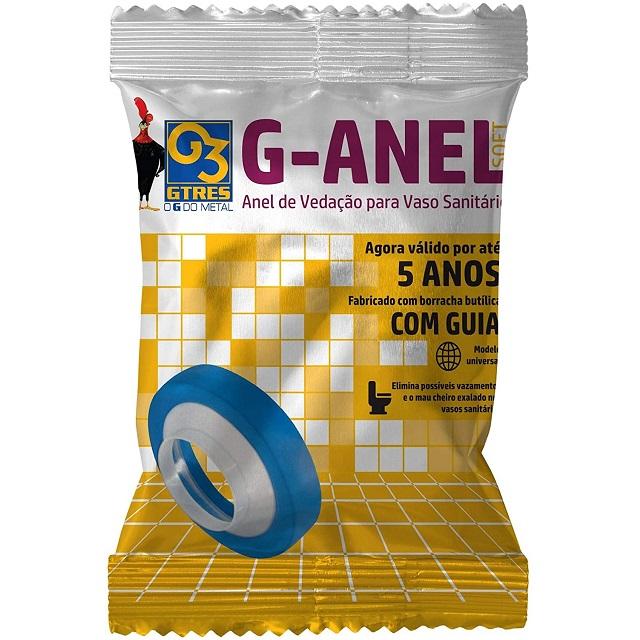 ANEL DE VEDAÇÃO PARA BACIA SANITÁRIA COM GUIA GAVGSP GTRES