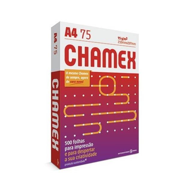PAPEL A4 CHAMEX BRANCO 75G 210X297MM