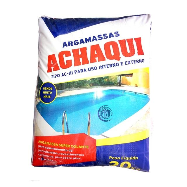 ARGAMASSA AC-III (EXTERNO) 20KG ACHAQUI