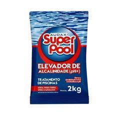 ELEVADOR DE ALCALINIDADE PH+ PARA PISCINA SUPER POOL 2KG AUDAX