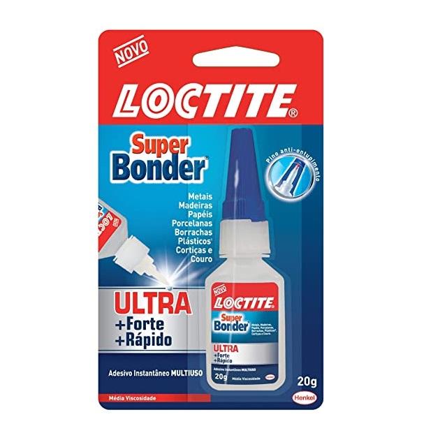 COLA SUPER BONDER ULTRA 20G LOCTITE - HENKEL