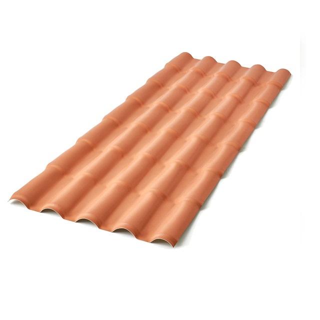 TELHA PVC COLONIAL CERAMICA 0,86X2,30M NORTELIT