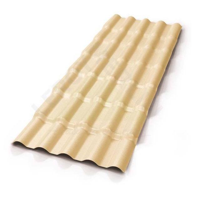 TELHA PVC COLONIAL MARFIM 0,86X2,30M NORTELIT
