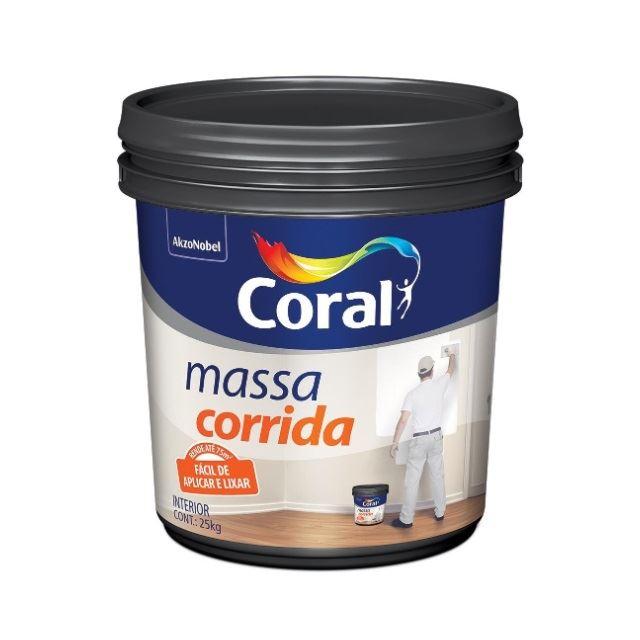 MASSA CORRIDA PVA CORAL 5327347 25,0KG