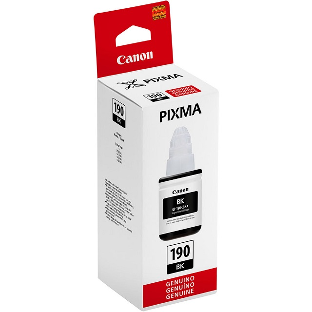 REFIL DE TINTA PARA IMPRESSORA CANON PT 6000 PG.GI190BK