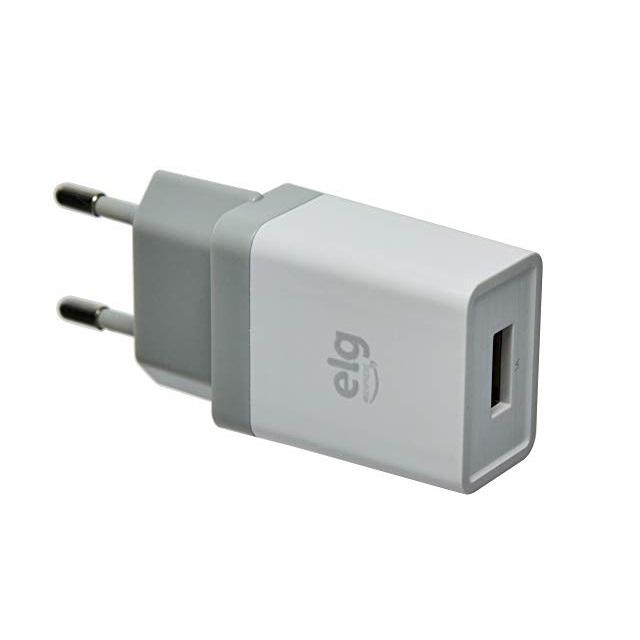 CARREGADOR USB PAREDE 1A WC1AE ELG