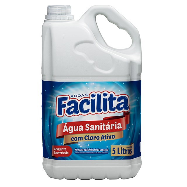 ÁGUA SANITÁRIA 5,0L FACILITA