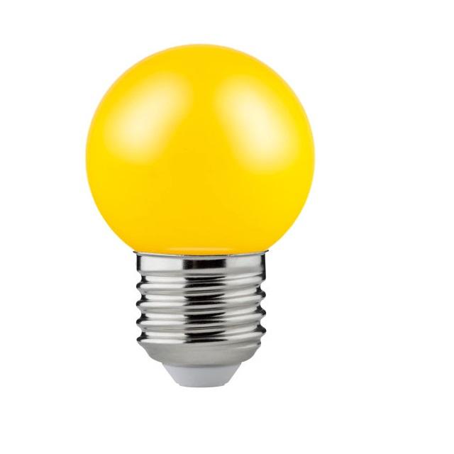 LÂMPADA LED BOLINHA CLASSIC P E27 1,2W 70LM AMARELA OSRAM