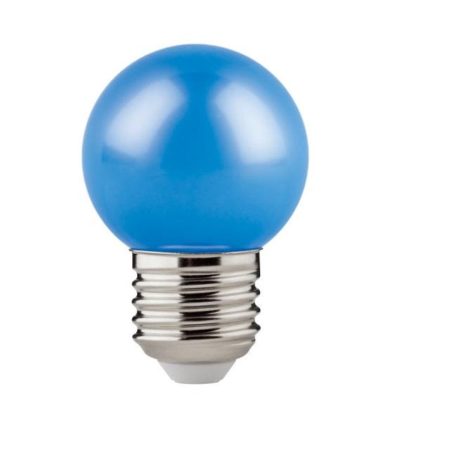 LÂMPADA LED BOLINHA CLASSIC P E27 1,2W 8LM AZUL OSRAM