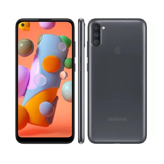 SMARTPHONE SAMSUNG GALAXY A11 64GB DUAL CHIP ANDROID 10 TELA 6.4