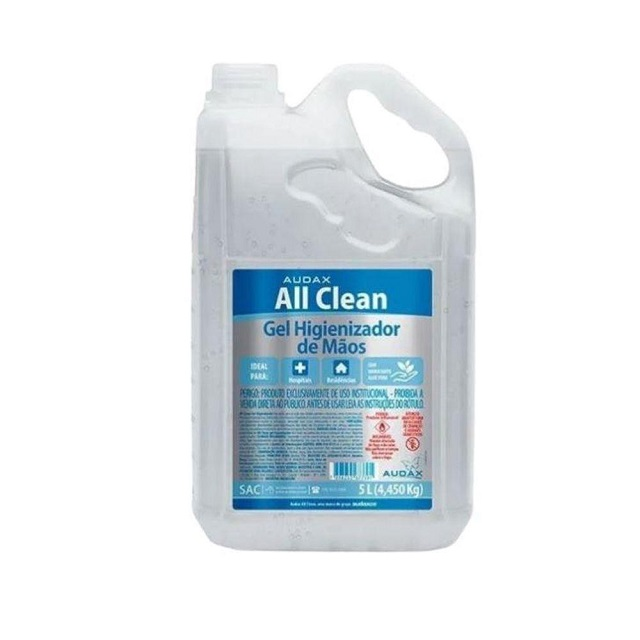 ÁLCOOL GEL ANTISSÉPTICO 70% ALL CLEAN 5L