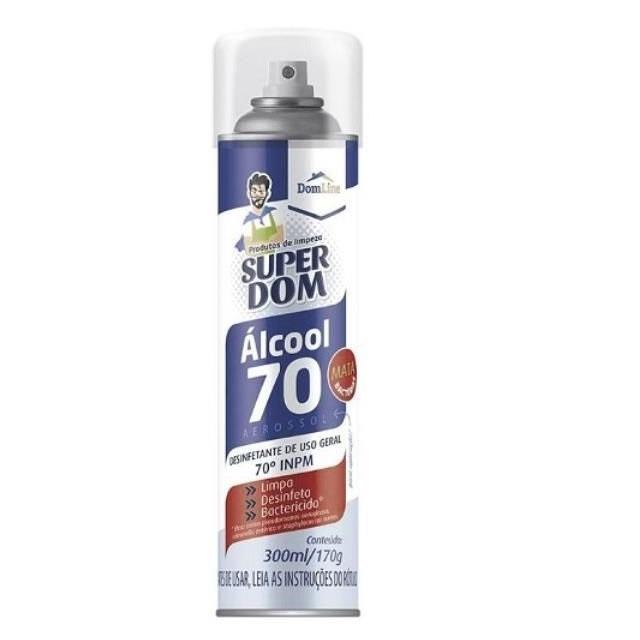 ÁLCOOL 70% SUPER DOM SPRAY 300ML
