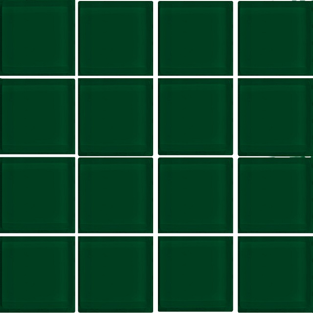 PASTILHA DE VIDRO TOP GLASS COLOR 2,4 X 2,4 CM TELA 30X30 CM FLORESTA POINTER